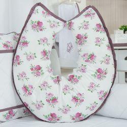 Almofada Amamentação Bouquet Uva