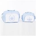 Conjunto de Bolsas Maternidade Realeza Azul