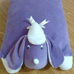 Travesseiro de Plush G Cachorro Sapeca