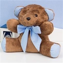 Urso Cerquinha Azul P