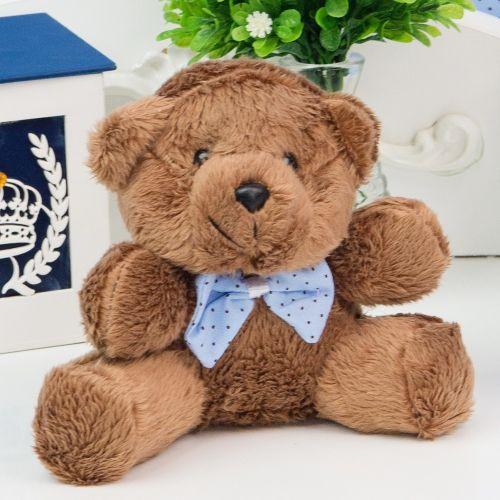 Urso Mini Cerquinha Azul 12cm