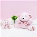 Ursas de Pelúcia Realeza Rosa