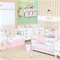 Quarto para Bebê Sem Cama Babá Florence Rosa