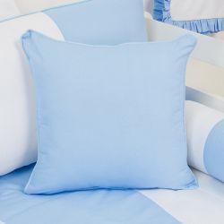 Almofada Estampada Provençal Azul 43cm
