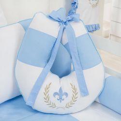 Almofada Amamentação Provençal Azul