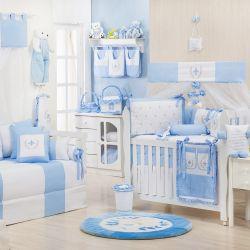 Quarto de Bebê Provençal Azul