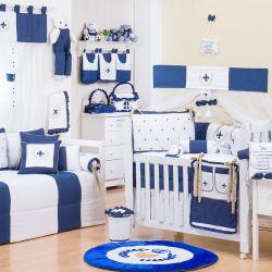 Quarto de Bebê Provençal Marinho