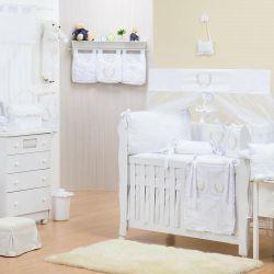 Quarto de Bebê sem Cama Babá Provençal Branco