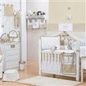Quarto para Bebê sem Cama Babá Provençal Bege