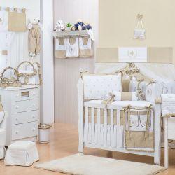 Quarto de Bebê sem Cama Babá Provençal Bege