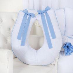 Almofada Amamentação Realeza Azul