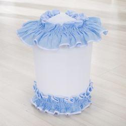 Lixeira Realeza Azul