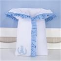 Porta Bebê Realeza Azul