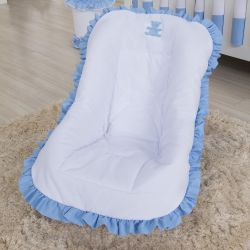 Capa de Bebê Conforto Realeza Azul