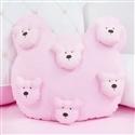 Almofada Urso Teddy Rosa