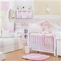 Quarto para Bebê Nervura Rosa