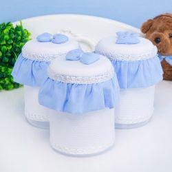 Jogo de Potes Teddy Azul
