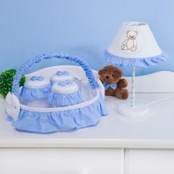 Kit Acessórios Teddy Azul