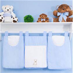 Prateleira Completa Teddy Azul