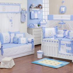 Quarto de Bebê Teddy Azul