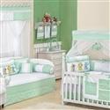 Quarto para Bebê sem Cama Babá Elegance Verde