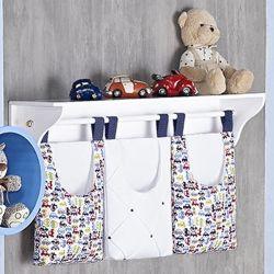 Porta Fraldas Varão Cuty Baby Marinho
