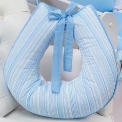 Almofada Amamentação Meu Bebê Azul