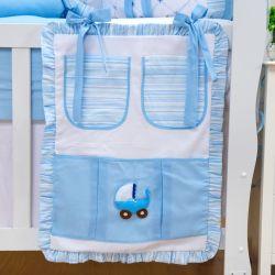 Porta Treco Meu Bebê Azul