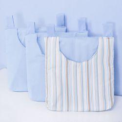 Porta Fraldas Varão Passarinhos Azuis