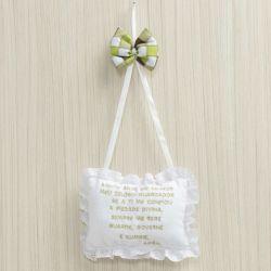Porta Maternidade Oração Santo Anjo Baby Selva