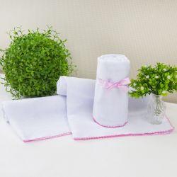 Toalha para Banho Humanizado Rosa