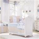 Quarto para Bebê Sem Cama Babá Coroa Azul