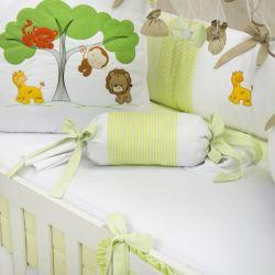 Almofada Apoio Bala Reino Encantado Verde 62cm