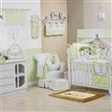 Quarto para Bebê sem Cama Babá Reino Encantado Verde