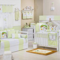 Quarto de Bebê Reino Encantado Verde