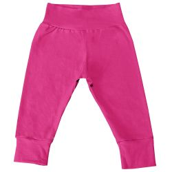 Mijão com Cós Alto e Pé Reversível Pink