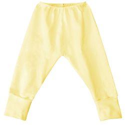 Mijão com Elástico e Pé Reversível Amarelo