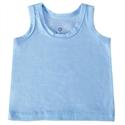 Camiseta Regata Azul Recém-Nascido a 3 Meses