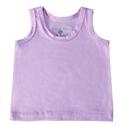 Camiseta Regata Lilás Recém-Nascido a 3 Meses