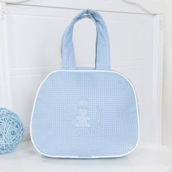 Bolsa Maternidade Realeza Azul 25cm