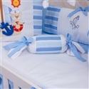 Almofada Apoio Bala Veleiro Azul Claro