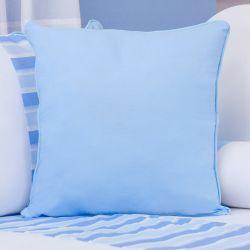 Almofada Lisa Veleiro Azul Claro 43cm