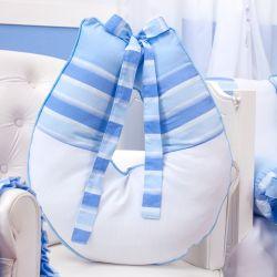 Almofada Amamentação Veleiro Azul Claro