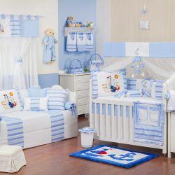 Quarto de Bebê Veleiro Azul Claro
