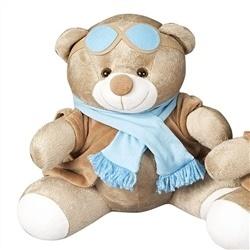 Enfeite Urso G Aviador