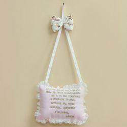 Porta Maternidade Oração Santo Anjo Menina Bailarina
