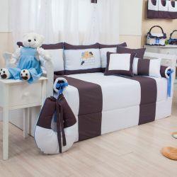 Kit Cama Babá Ursos Amigos