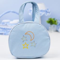 Bolsa Maternidade Soninho Azul 25cm