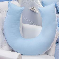 Almofada Amamentação Ursinho Travesso Azul