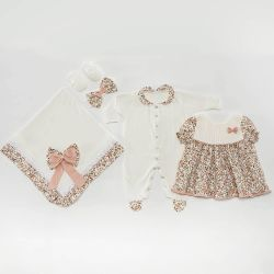 Saída Maternidade Vestido Charm Floral